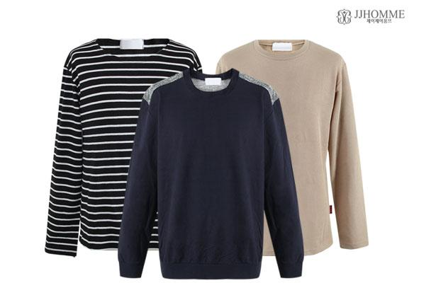 남성 긴팔패션 티셔츠/맨투맨 13종택