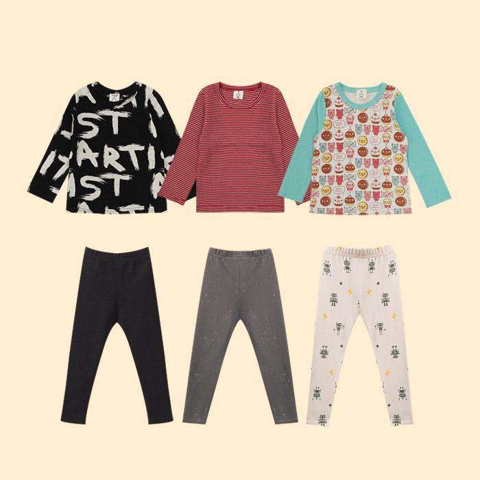 유아동 가을 레깅스&티셔츠