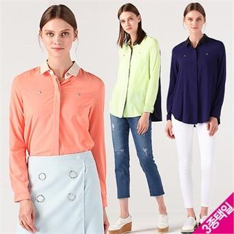 [르오트(LeOT)] 믹스앤매치 컬러블록 엣지셔츠