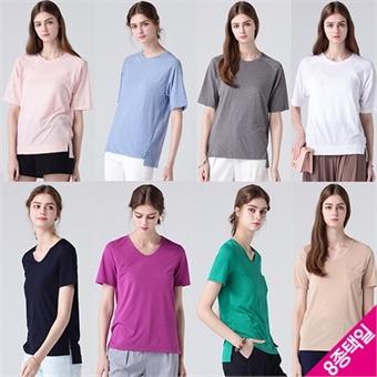 [르오트(LeOT)] 네츄럴 썸머 코튼슬럽/레이온 티셔츠