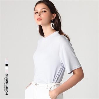[모리모리스] 무지 소프트 티셔츠