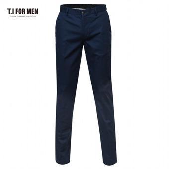 [TI FOR MEN] 티아이포맨 면혼방 패턴조직 팬츠 M152MPT205M1NV2