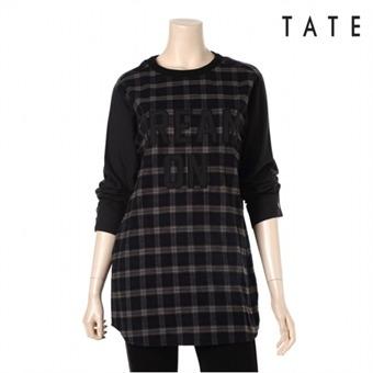 [테이트] 여성 패턴 긴팔원피스 KA4W0WOP010390