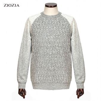[지오지아] 모혼방 패턴스웨터 AAV4ER1116MGR