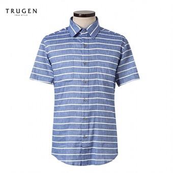 [트루젠] 스트라이프 반팔셔츠 TG6U5MRC640393