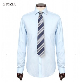 [지오지아] ANDZ 긴팔 셔츠 BLV2WD1012BL