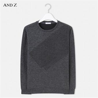 [앤드지] ANDZ 배색 스웨터 BLW3TR1005GR