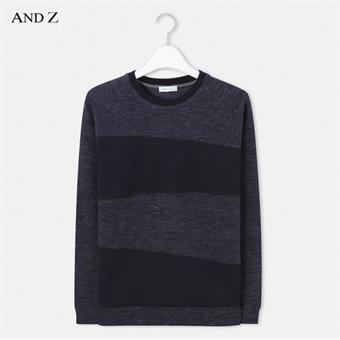 [앤드지] ANDZ 배색 스웨터 BLW3TR1007NV
