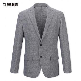 [TI FOR MEN] 티아이포맨 폴리 투버튼자켓 M174MJK723M1GY5