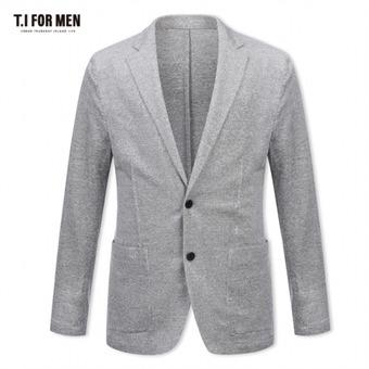 [TI FOR MEN] 티아이포맨 마혼방 투버튼 자켓 M174MJK230M1GY5