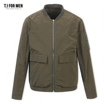 [TI FOR MEN] 티아이포맨 폴리혼방 집업 점퍼 M172MJP303M1KH2