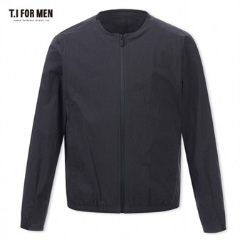 [TI FOR MEN] 티아이포맨 나일론 폴리 집업 점퍼 M172MJP701M1GY3
