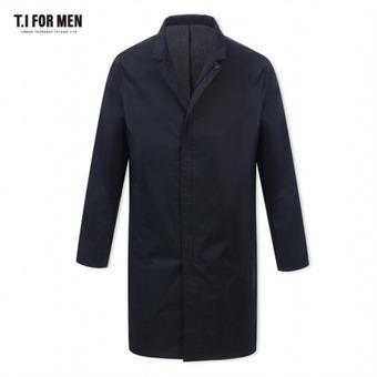 [TI FOR MEN] 티아이포맨 면혼방 집업 코트 M172MCT904M1NV2