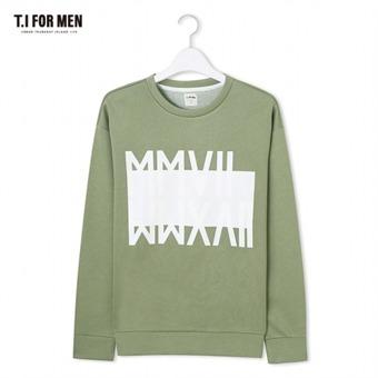 [TI FOR MEN] 티아이포맨 프린트 맨투맨 M172MTS403M1KH3