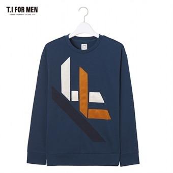 [TI FOR MEN] 티아이포맨 프린트 맨투맨 M172MTS422M1GN5