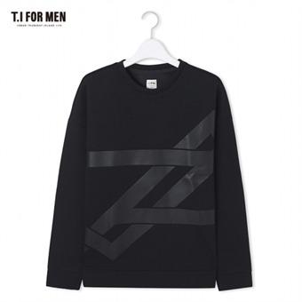 [TI FOR MEN] 티아이포맨 프린트 맨투맨 M172MTS803M1BK2