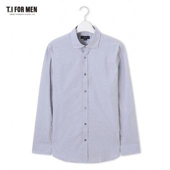 [TI FOR MEN] 티아이포맨 패턴 긴팔셔츠 M172MSH407M1GY5