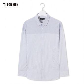 [TI FOR MEN] 티아이포맨 패턴 긴팔셔츠 M172MSH412M1BL5