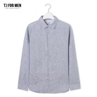 [TI FOR MEN] 티아이포맨 패턴 긴팔셔츠 M174MSH460M1GY5