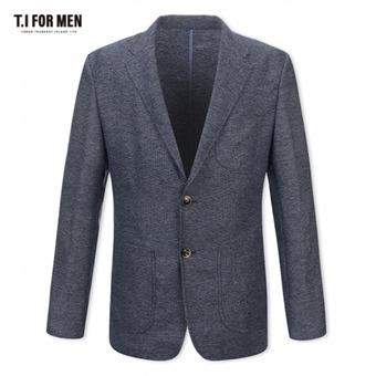 [TI FOR MEN] 티아이포맨 패턴 투버튼자켓 M174MJK905M1NV5