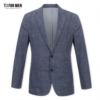 [TI FOR MEN] 티아이포맨 패턴 투버튼자켓 M174MJK641M1NV2