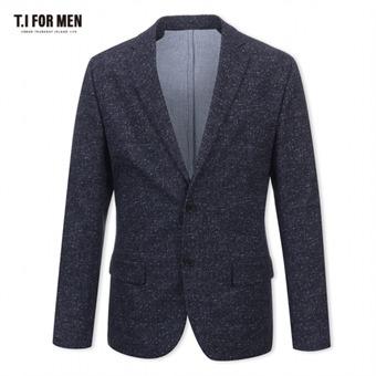 [TI FOR MEN] 티아이포맨 패턴 투버튼자켓 M174MJK647M1NV5