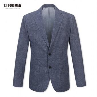 [TI FOR MEN] 티아이포맨 패턴 투버튼자켓 M174MJK651M1NV2