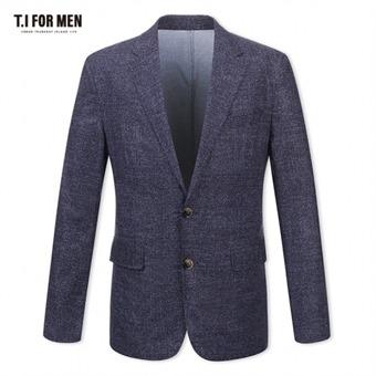 [TI FOR MEN] 티아이포맨 패턴 투버튼자켓 M174MJK801M1NV5