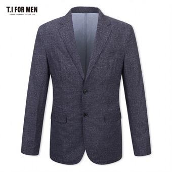 [TI FOR MEN] 티아이포맨 패턴 투버튼자켓 M174MJK901M1NV5