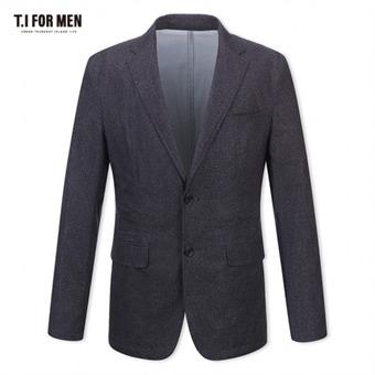 [TI FOR MEN] 티아이포맨 패턴 투버튼자켓 M174MJK904M1GY5