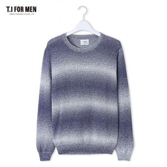 [TI FOR MEN] 티아이포맨 그라데이션 스웨터 M162MSW413M1BL5