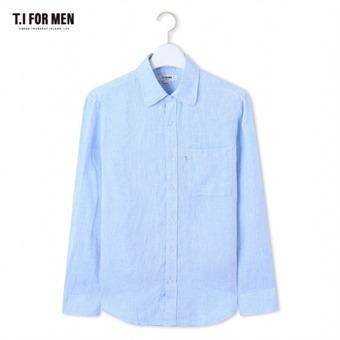 [TI FOR MEN] 티아이포맨 마100 긴팔셔츠 M164MSH901M1BL2