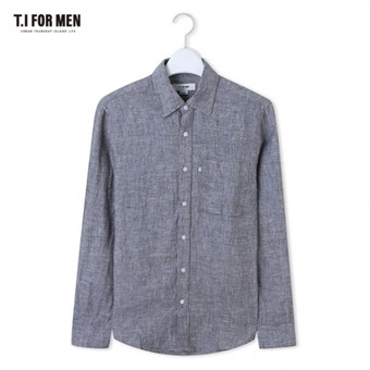 [TI FOR MEN] 티아이포맨 마100 긴팔셔츠 M164MSH902M1GY2