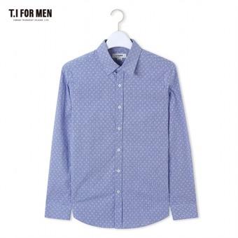 [TI FOR MEN] 티아이포맨 패턴 긴팔셔츠 M162MSH418M1NV5