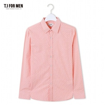 [TI FOR MEN] 티아이포맨 패턴 긴팔셔츠 M162MSH419M1CO5