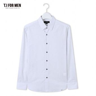 [TI FOR MEN] 티아이포맨 패턴 긴팔셔츠 M162MSH426M1WH5