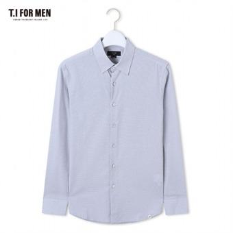 [TI FOR MEN] 티아이포맨 패턴 긴팔셔츠 M162MSH427M1GY5