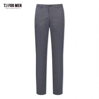 [TI FOR MEN] 티아이포맨 면혼방 패턴 팬츠 M162MPT816M1GY5