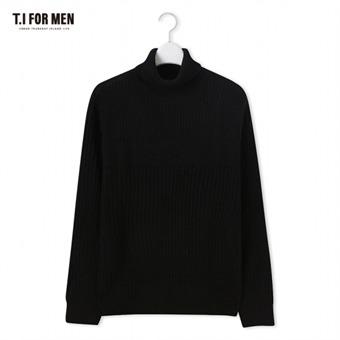 [TI FOR MEN] 티아이포맨 터틀넥 스웨터 M178MSW751M1BK2
