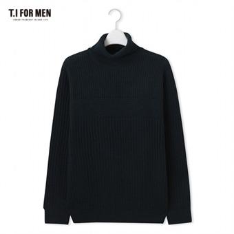 [TI FOR MEN] 티아이포맨 터틀넥 스웨터 M178MSW755M1GN3