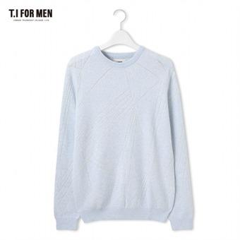 [TI FOR MEN] 티아이포맨 절개 스웨터 M176MSW403M1SK1