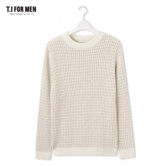 [TI FOR MEN] 티아이포맨 스웨터 M176MSW408M1IV5