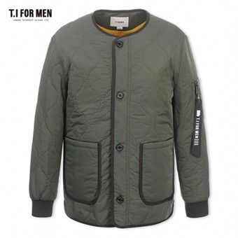 [TI FOR MEN] 티아이포맨 패딩 점퍼 M178MJP310M1KH2