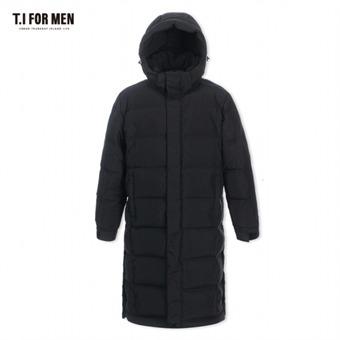 [TI FOR MEN] 티아이포맨 롱 구스다운 점퍼 M178MJP312M1BK2
