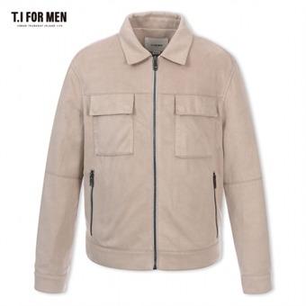 [TI FOR MEN] 티아이포맨 폴리 집업 점퍼 M176MJP307M1BE2
