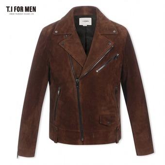 [TI FOR MEN] 티아이포맨 염소가죽 라이더자켓 M176MLT302M1BR2