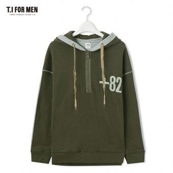 [TI FOR MEN] 티아이포맨 후드 티셔츠 M176MTS412M1KH3