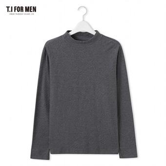 [TI FOR MEN] 티아이포맨 하프터틀넥 긴팔티셔츠 M176MTS706M1CH2