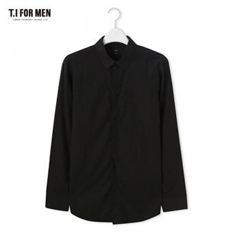 [TI FOR MEN] 티아이포맨 긴팔셔츠 M176MSH411M1BK2