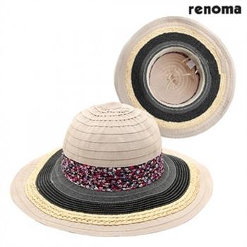 [레노마]여성 비치모자 색상 (택1) RC5406-BK/RD